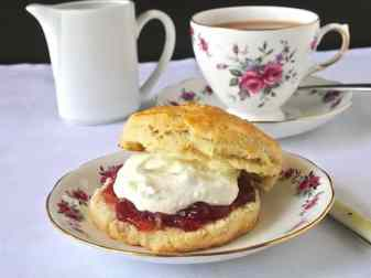 How To Serve Scones For Afternoon Tea