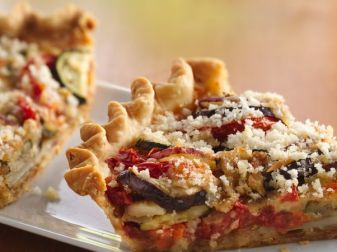 Vegetable Tart With Readymade Pie Crust