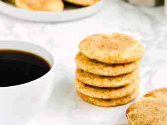 How To Make Eggless Snickerdoodle Cookies
