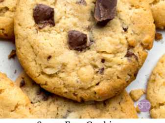 Sugar Free Peanut Butter Cookies With Chocolate Chips
