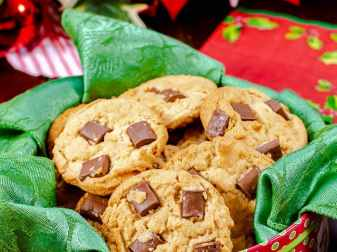 Peanut Butter Chocolate Chip Cookies With No Eggs