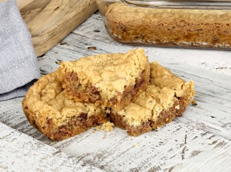 Chocolate Chip Cookie Bars Without Eggs