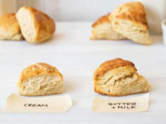 Is There Butter In Scones