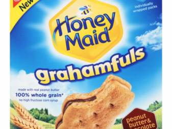 Honey Maid Graham Crackers With Peanut Butter