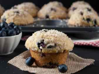 How To Make Streusel For Blueberry Muffins