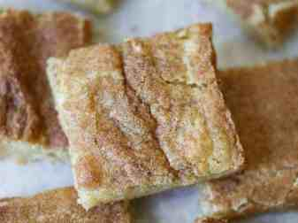 Snickerdoodle Cookies Without Baking Soda Or Powder