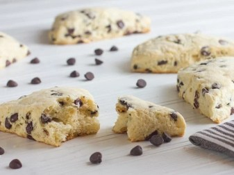 How To Make Chocolate Chip Scones Without Heavy Cream