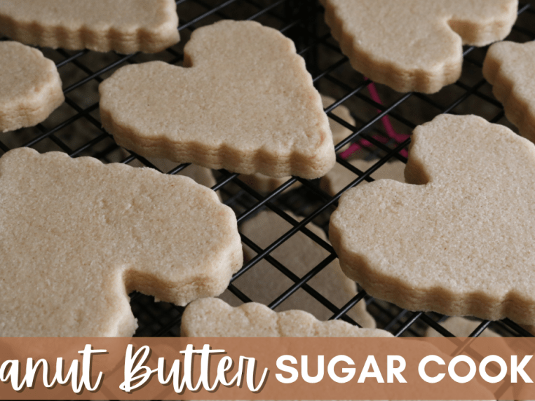 Perfect Peanut Butter Sugar Cookies ~ 6 Cakes & More, LLC