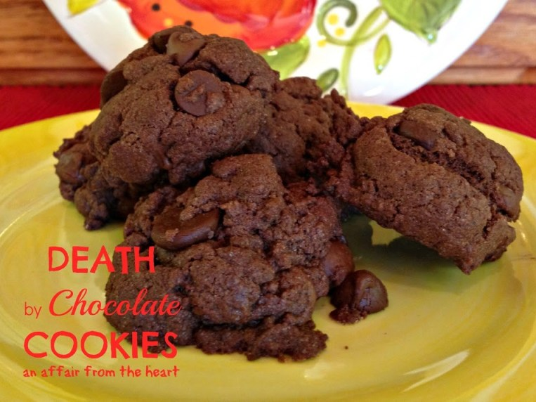 Death By Chocolate Cookies With Cake Mix