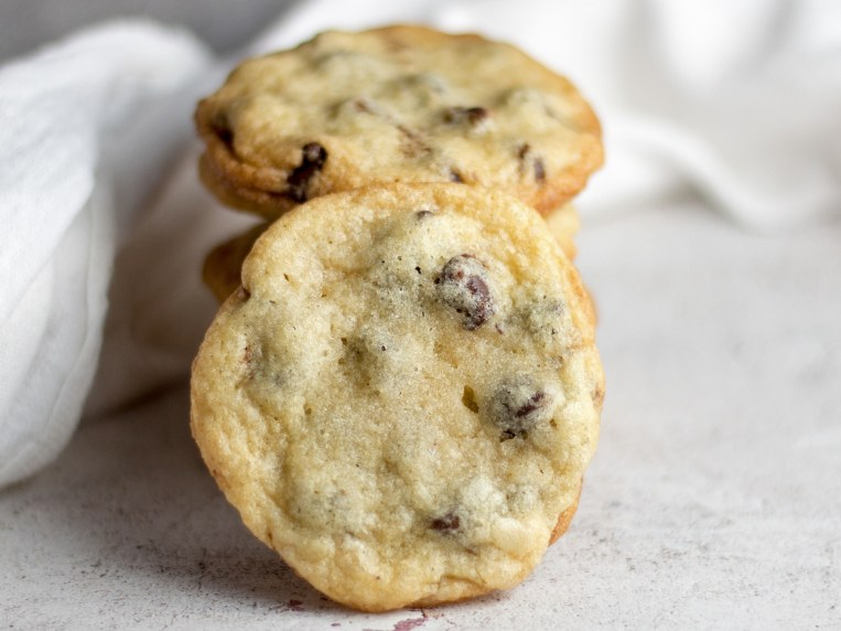 Chocolate Chip Cookies Without Brown Sugar {The Perfect Crisp