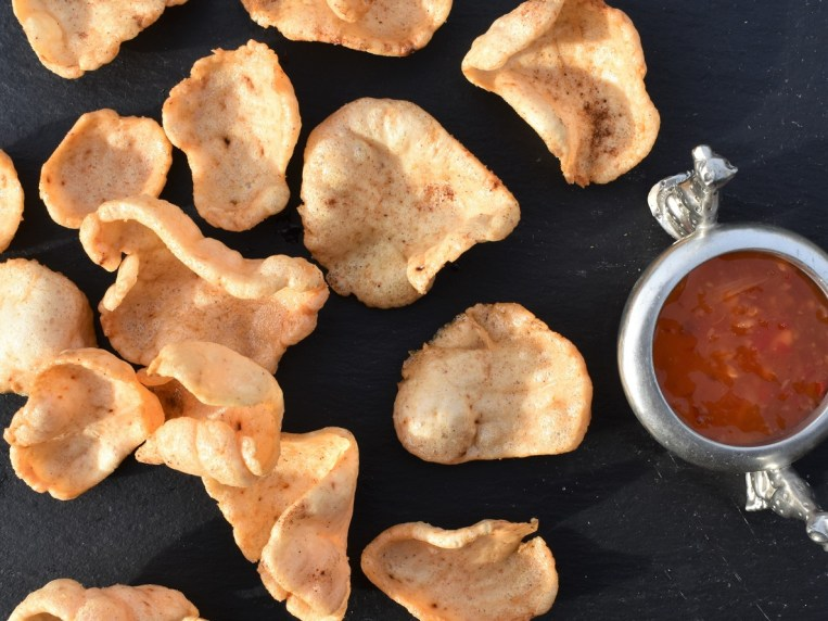 How to make spiced prawn crackers from scratch – Phil's Home