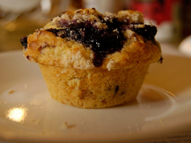 Blueberry Muffins from Cook's Illustrated