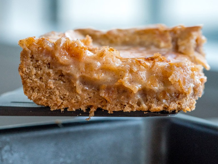 Cookie Bars Made With Spice Cake Mix