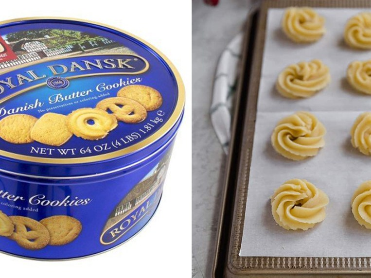This Butter Cookie Recipe Tastes Exactly Like The 'Blue Tin