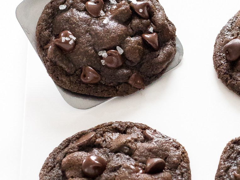 Double Chocolate Cookies Coconut Oil