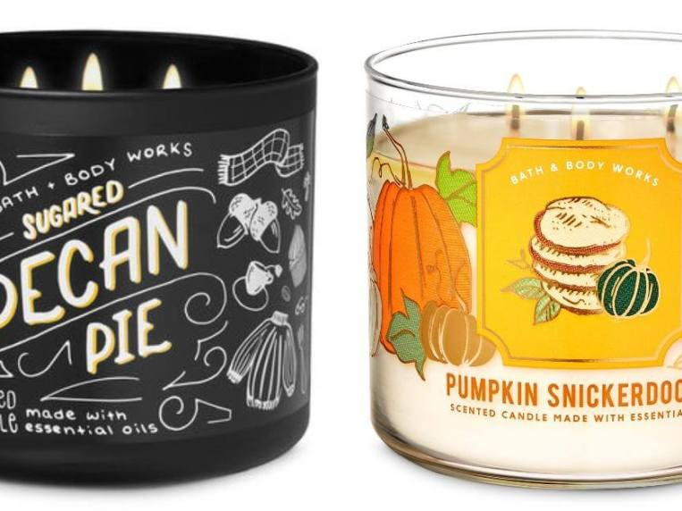 Ranking of Bath and Body Works' Fall 2020 Candles