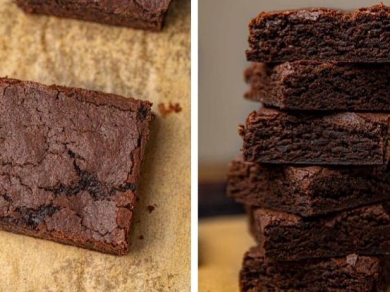 Easy Chocolate Brownies (w/ cocoa powder)