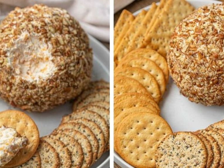 Ultimate Cheese Ball (SO EASY