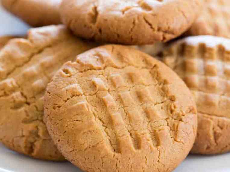 BEST Gluten Free Peanut Butter Cookies Ever! Easy Recipe for
