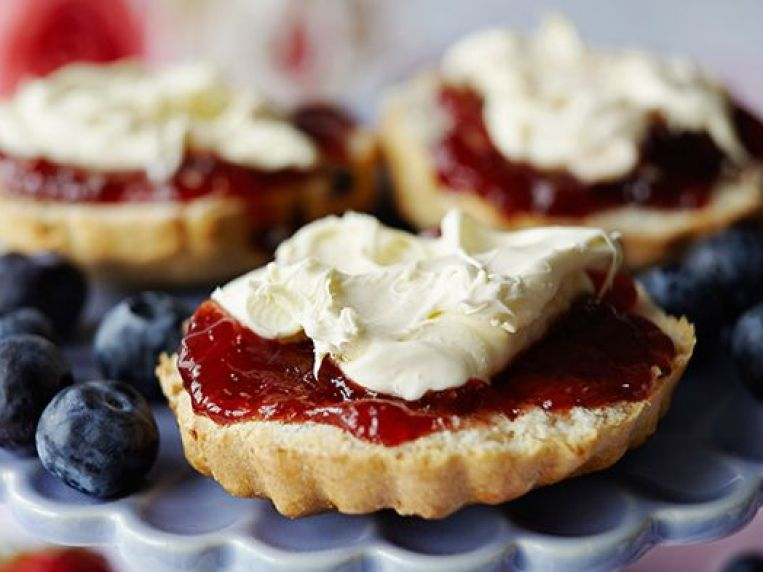 The best way to eat a scone? An expert reveals how to properly eat