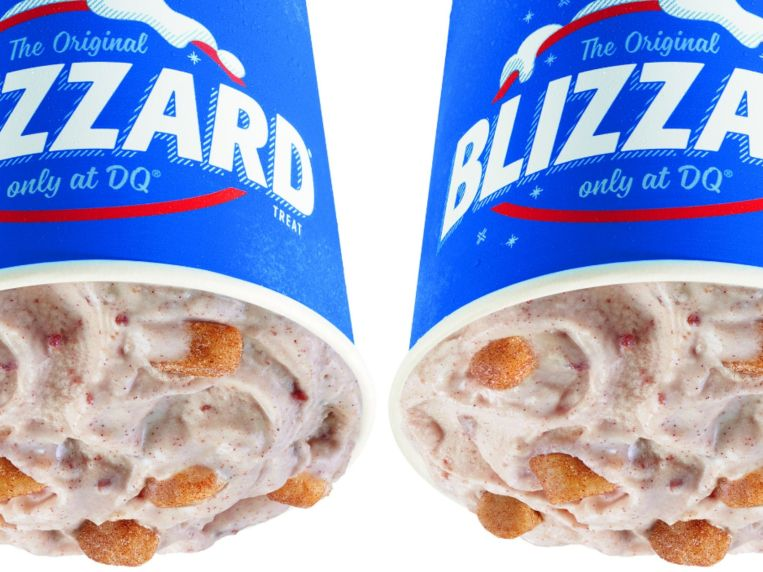 Snickerdoodle Cookie Dough Is November's Blizzard Of The Month