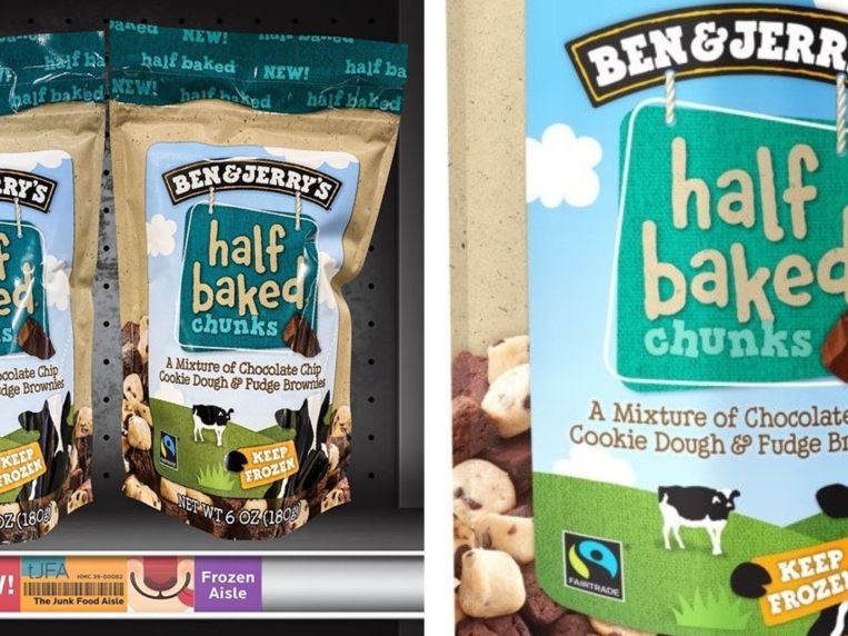 Ben & Jerry's Released 2 New Flavors Of Cookie Dough Chunks