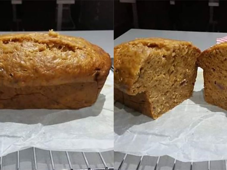 A Three-Ingredient Slow Cooker Banana Bread Recipe Exists