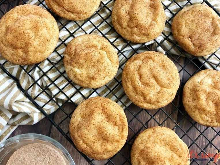 Keto Snickerdoodles Cookie Recipe- ONLY 2 CARBS Per Srv