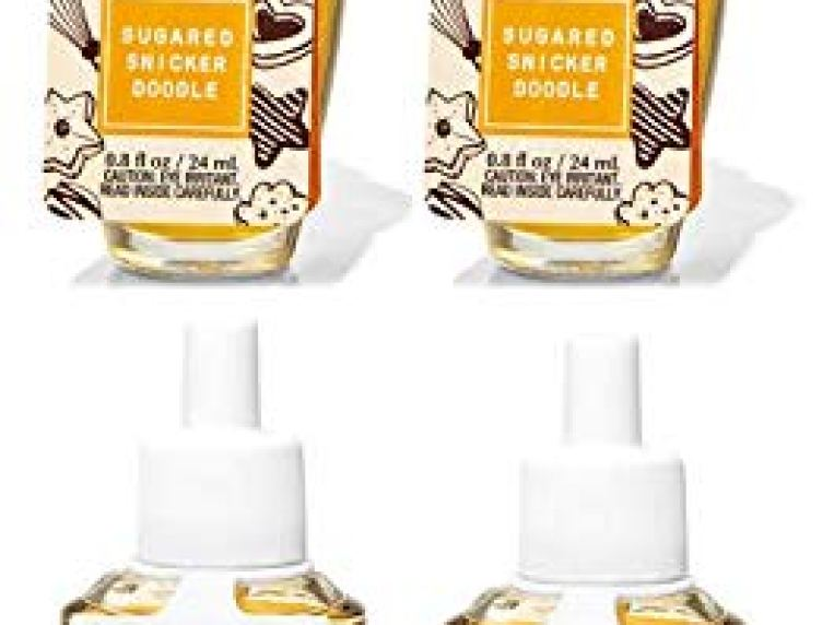 Bath and Body Works 4 Pack Sugared Snickerdoodle Wallflowers