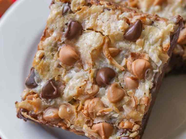 Magic Cookie Bars With Cake Mix