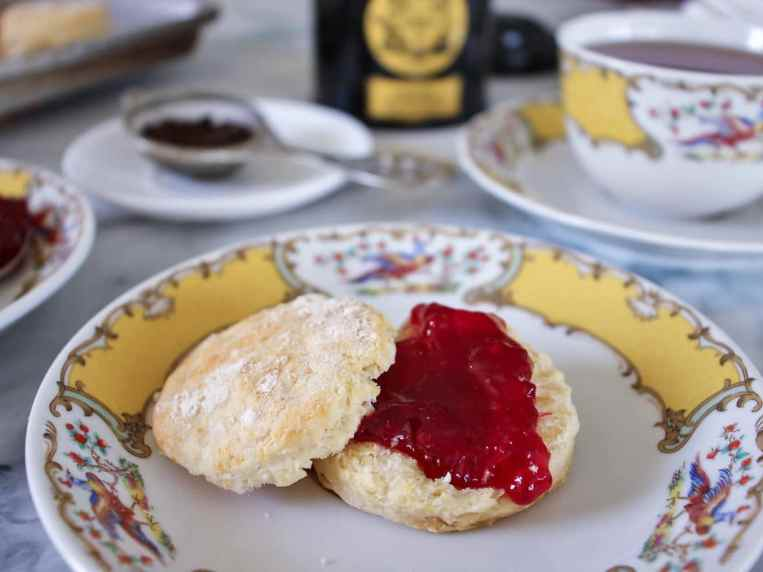 The Ritz of London's Afternoon Tea Scones