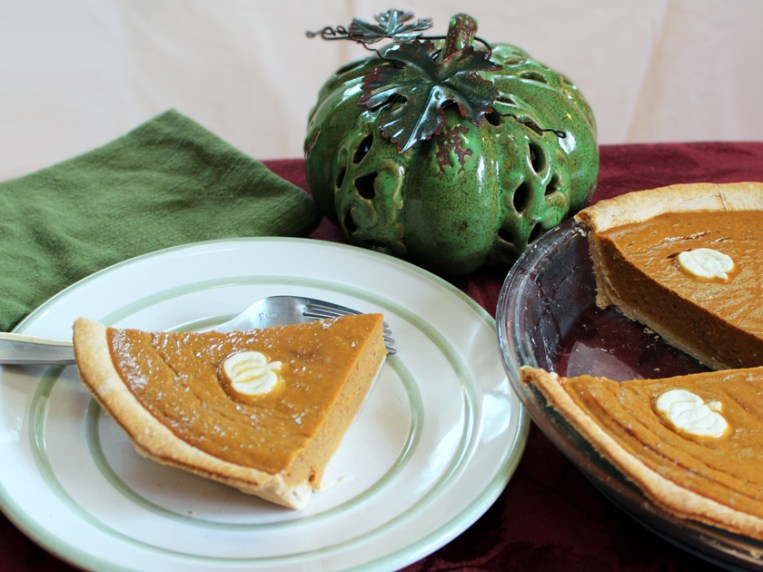 Pumpkin Pie Without Canned Milk