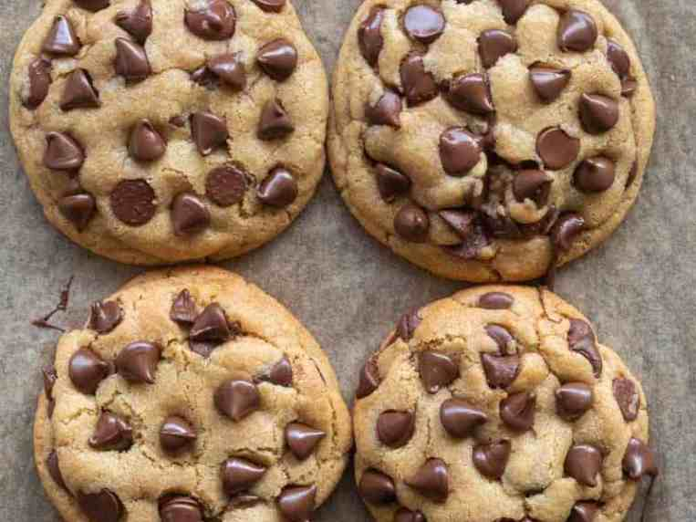 Eggless Chocolate Chip Cookies- No mixers!