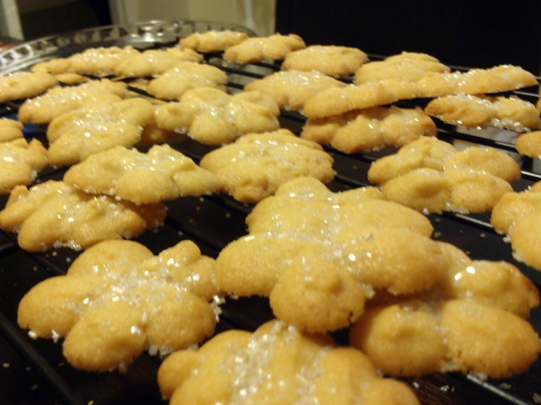 What's in your Big Blue Tin? Danish Butter Cookies