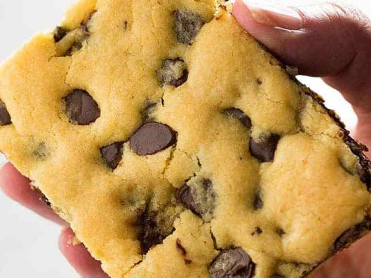 Cookie Bars With Cake Mix