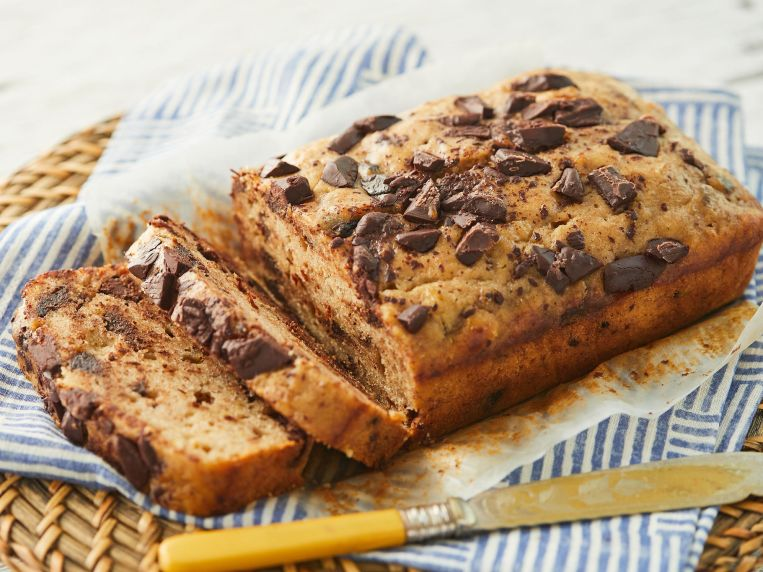 The Essential Chocolate Chip Banana Bread