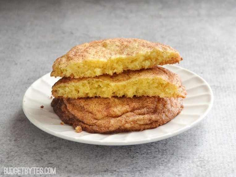 Snickerdoodles (for two)