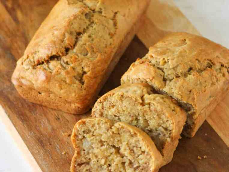 Mini Banana Bread Loaves [Air Fryer or Oven]