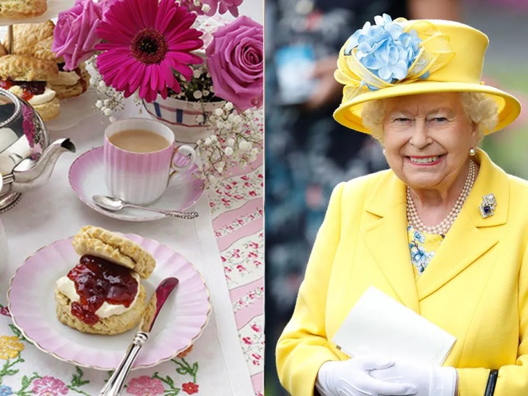 How the Queen takes her scones – jam or cream first?
