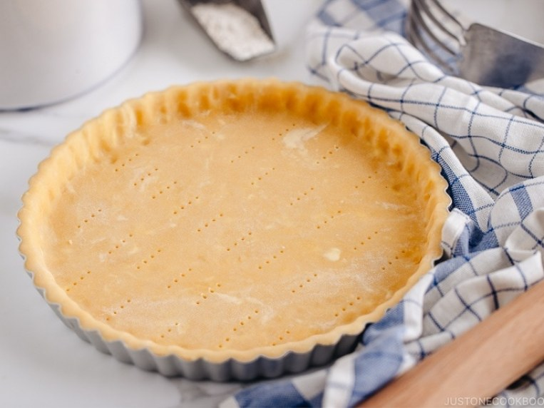Perfect Sweet Tart Crust (Pastry Crust) • Just One Cookbook