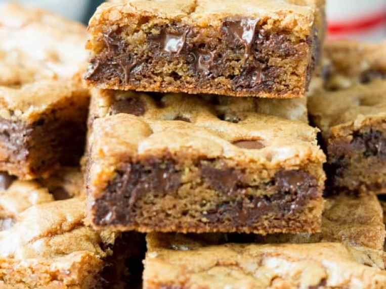 Easy Chocolate Chip Cookie Bars Recipe