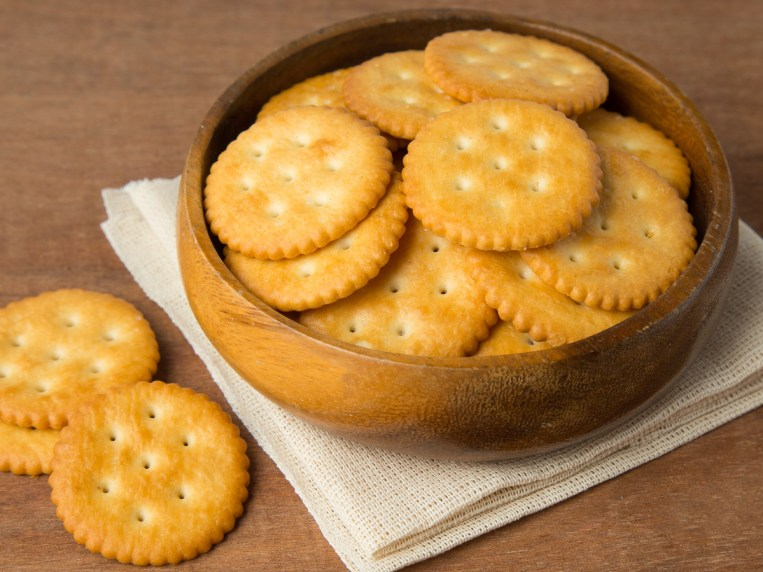 You Probably Didn't Know Why Ritz Crackers Have Holes In Them