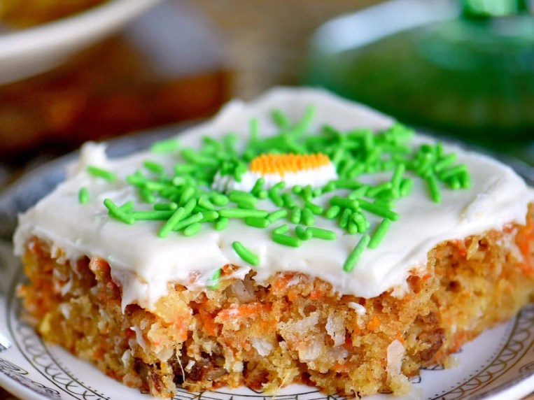 Carrot Cake Bars with Cream Cheese Frosting