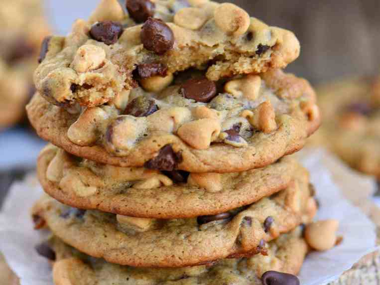 Peanut Butter Chocolate Chip Cookies With Banana
