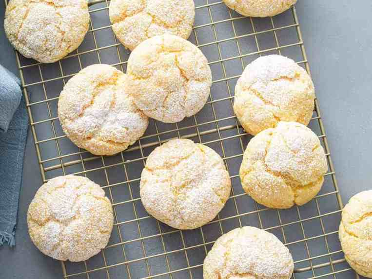 Gooey Butter Cookies (with cake mix)