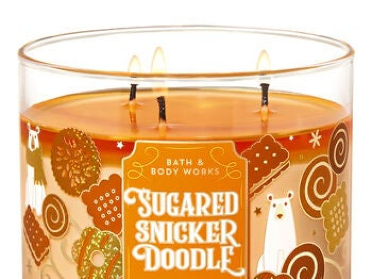 Bath & Body Works + Sugared Snickerdoodle 3-Wick Candle