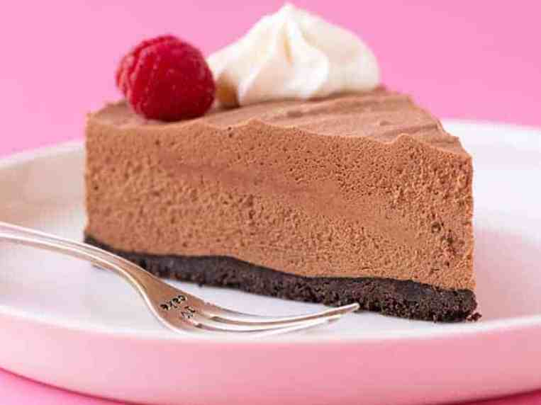 Chocolate Mousse Cake (5 Ingredients)