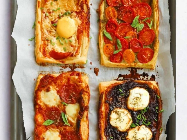 Open Tart With Puff Pastry