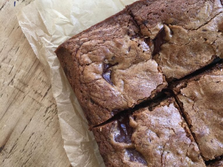 Brown Butter Muscovado Chocolate Chunk Cookie Bars