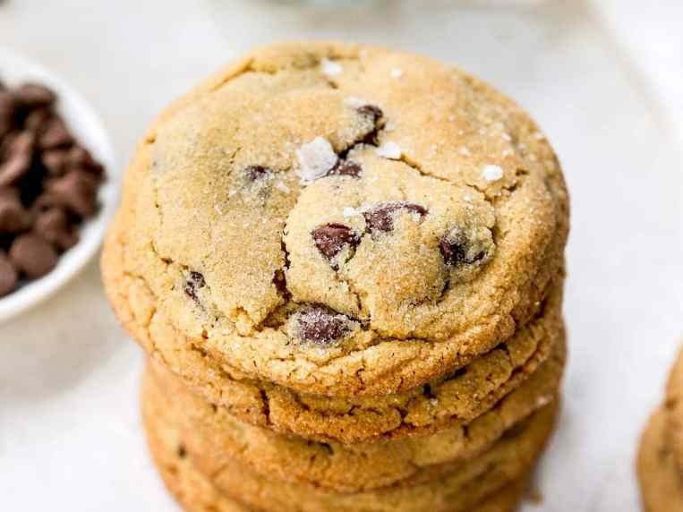 Peanut Butter Chocolate Chip Cookies {Best Ever}